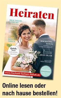 Hochzeit in Sachsen-Anhalt feiern